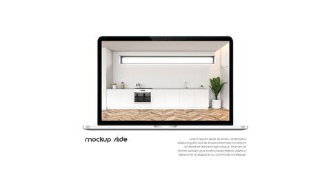 홈 인테리어 심플한 파워포인트 템플릿 디자인_39
