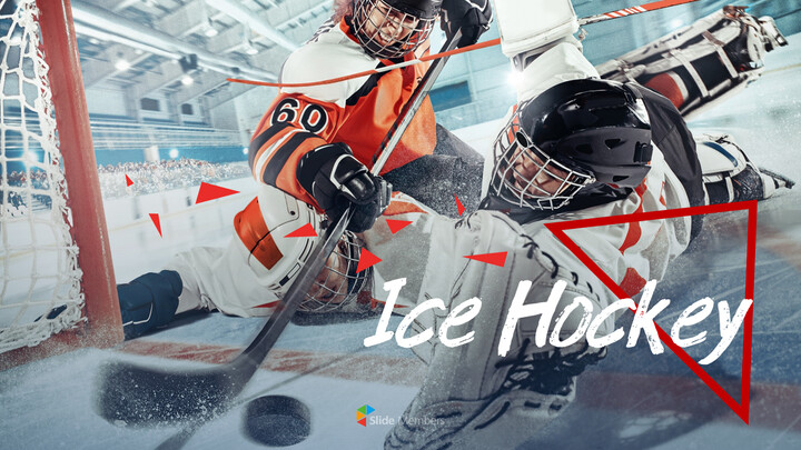 Ice Hockey PPT Business_01
