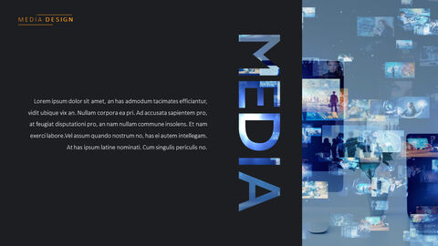 Media Simple PowerPoint Template Design_03