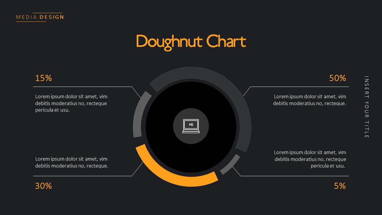 Media Simple Powerpoint Template Design