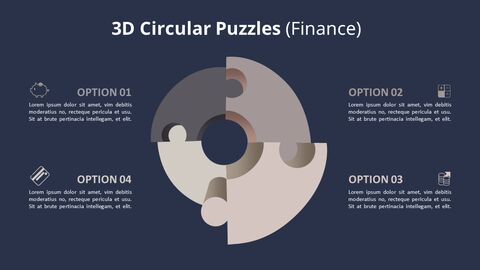 4 단계 원형 퍼즐 다이어그램_10