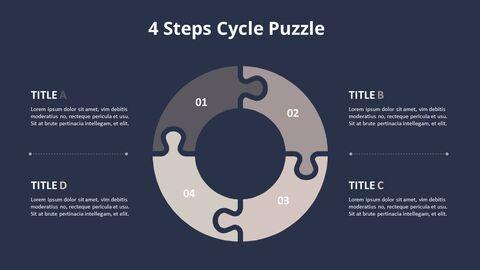 4 단계 원형 퍼즐 다이어그램_11