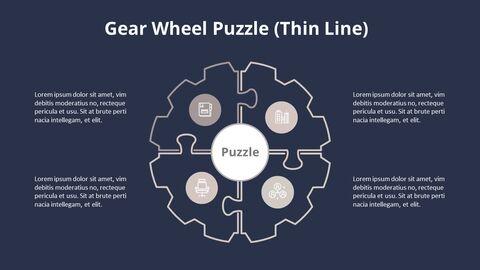 4 단계 원형 퍼즐 다이어그램_15