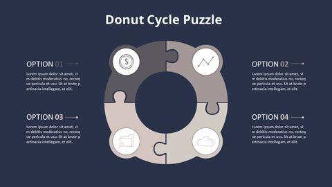4 단계 원형 퍼즐 다이어그램_16