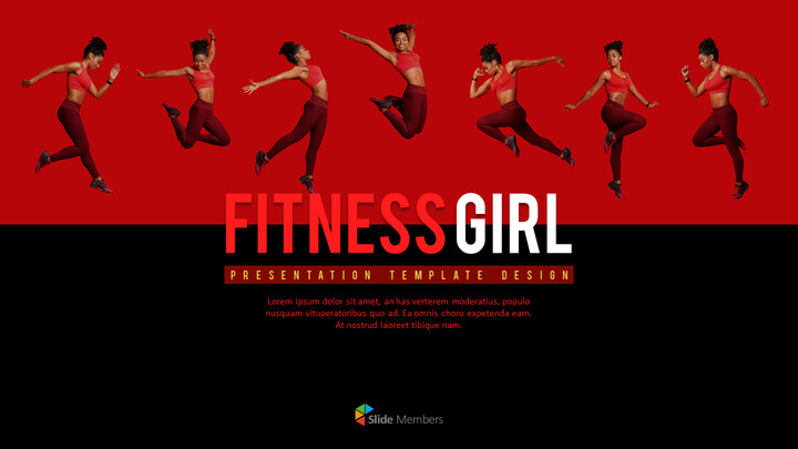 Fitness Girl Business Presentations_01