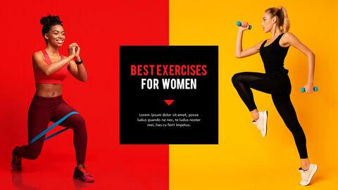 Fitness Girl Business Presentations_05