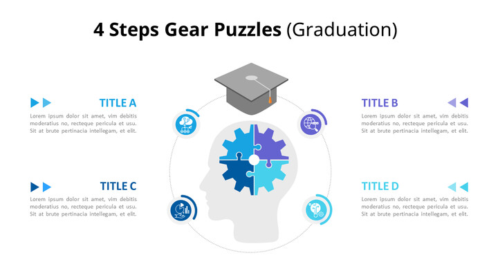 Idea and Knowledge Puzzle Infographic Diagram_01