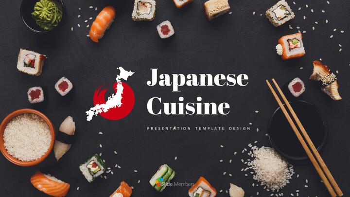 일본 요리 파워포인트 프레젠테이션_01