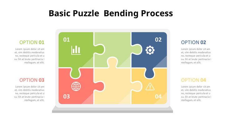 Jigsaw Puzzle Infographic Diagram_01