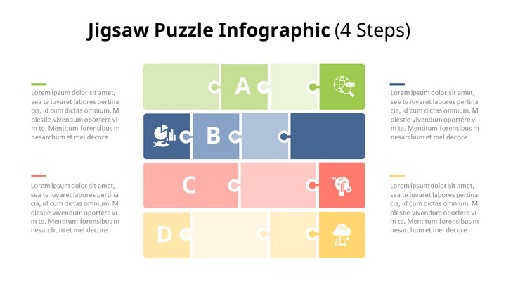 Jigsaw Puzzle Infographic Diagram_02