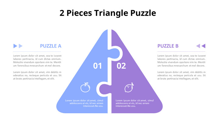 Triangle and House Shaped Puzzle Diagram_02