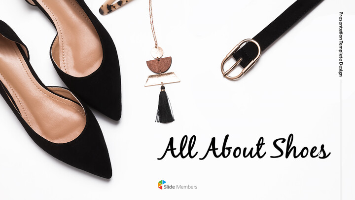 All About Shoes Best PPT Templates_01