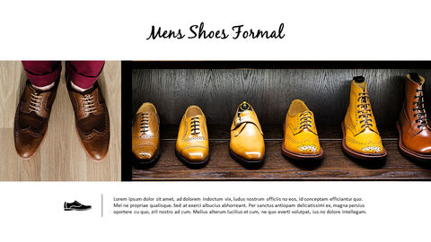 All About Shoes Best PPT Templates_04