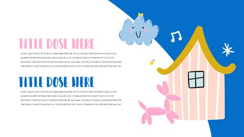 Be Happy Childrens PowerPoint Business Templates_04