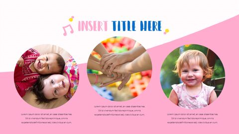 Be Happy Childrens PowerPoint Business Templates_05