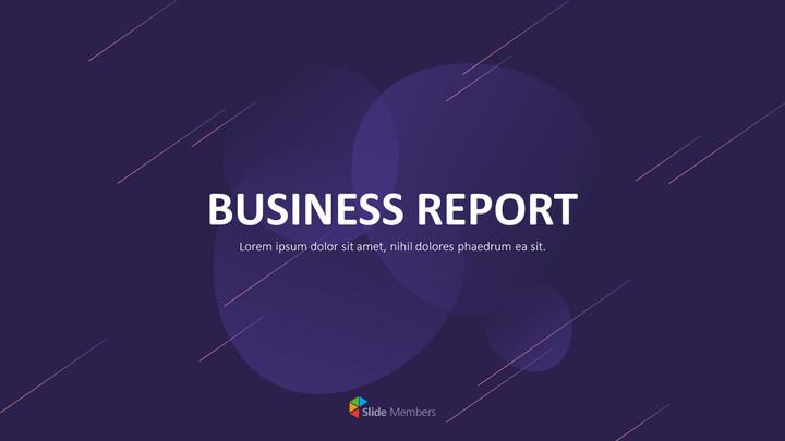 사업 보고서 디자인 마케팅용 프레젠테이션 PPT_01