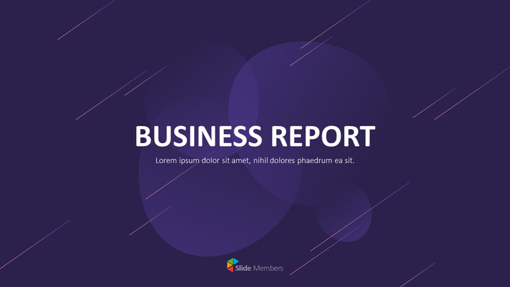 Business Report Design Marketing Presentation PPT_01