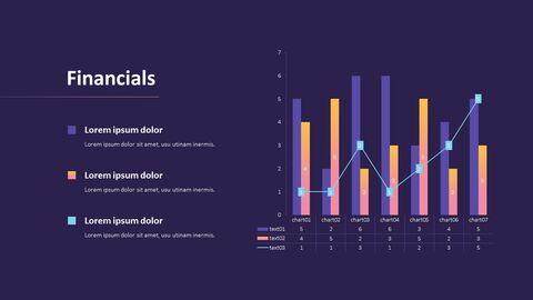 사업 보고서 디자인 마케팅용 프레젠테이션 PPT_13