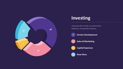 사업 보고서 디자인 마케팅용 프레젠테이션 PPT_14