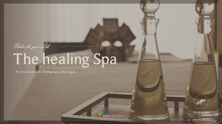 Healing Spa Best PPT Templates_01