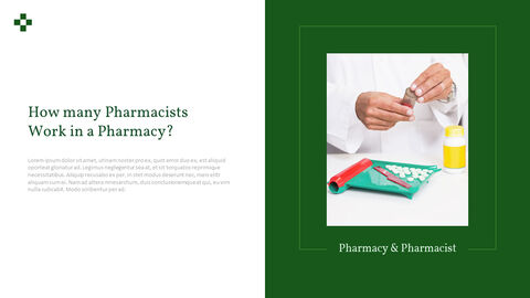 약국 및 약사 파워포인트 슬라이드 디자인_18