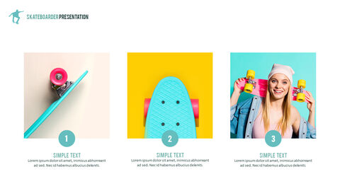 Skateboarder Theme PPT Templates_03