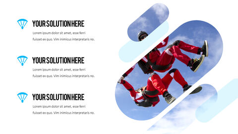 Skydiving premium PowerPoint Templates_02