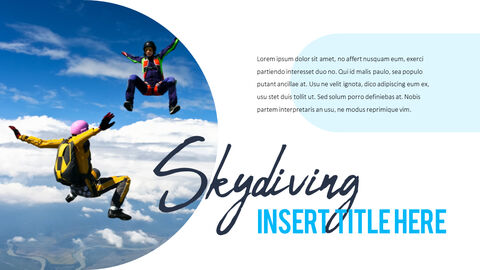 Skydiving premium PowerPoint Templates_03
