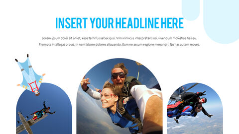 Skydiving premium PowerPoint Templates_04