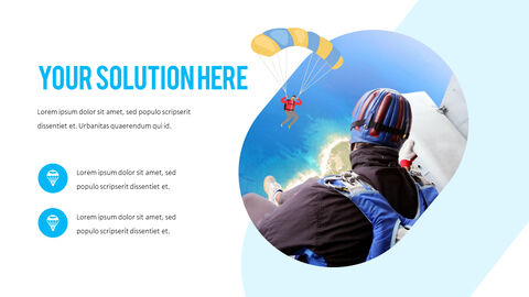 Skydiving premium PowerPoint Templates_05