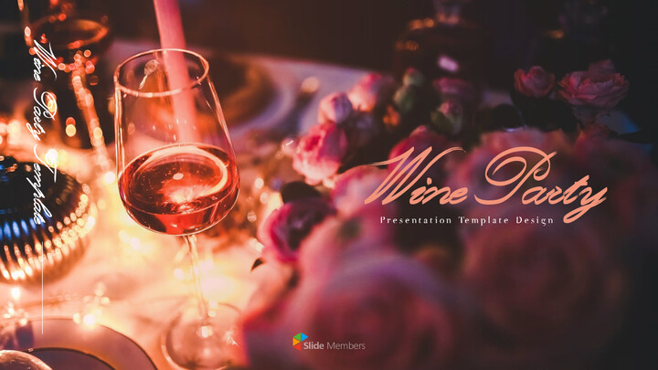 Wine Party Presentations PPT_01