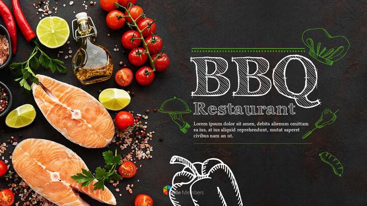 BBQ Restaurant Business plan Templates PPT_01