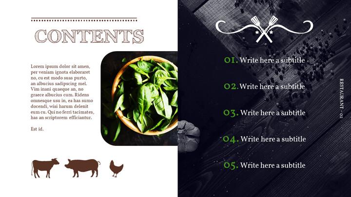 BBQ Restaurant Business plan Templates PPT_02