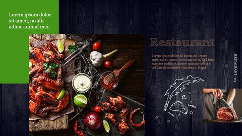 BBQ Restaurant Business plan Templates PPT_03