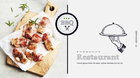 BBQ Restaurant Business plan Templates PPT_05