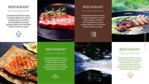 바베큐 레스토랑  비즈니스 사업 템플릿 PPT_07
