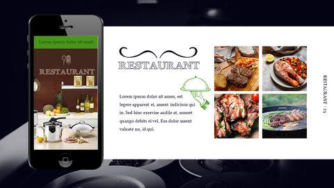 바베큐 레스토랑  비즈니스 사업 템플릿 PPT_23