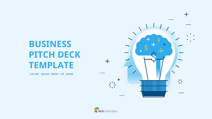 Business Pitch Deck Template PPT Background_01