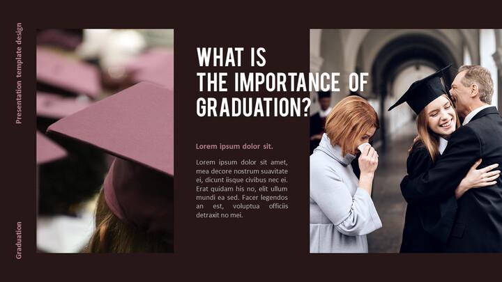 Graduation ceremony Presentation PowerPoint Templates Design_02