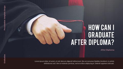 Graduation ceremony Presentation PowerPoint Templates Design_05