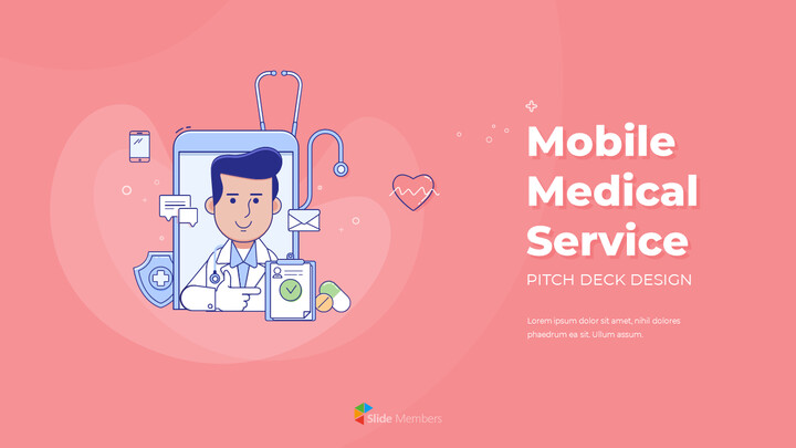 Mobile Medical Service Easy PowerPoint Design_01