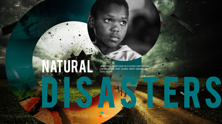 Natural Disasters PPT Background Images_01