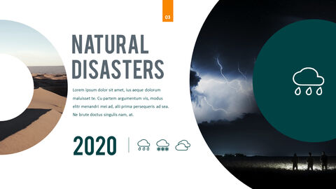 Natural Disasters PPT Background Images_02