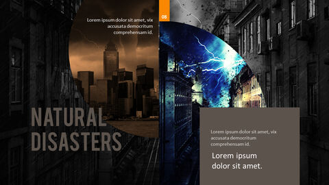 Natural Disasters PPT Background Images_04