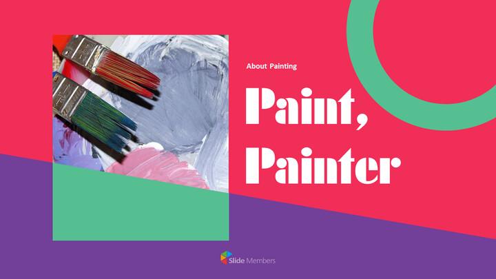 Paint, painter PowerPoint Presentation Slides_01