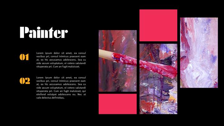 Paint, painter PowerPoint Presentation Slides_02