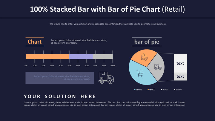 100% Stacked Bar with Bar of Pie Chart (Retail)_02