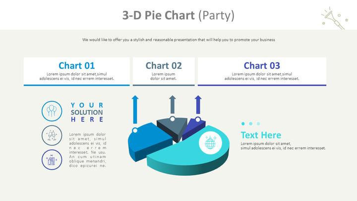 3-D Pie Chart (Party)_01