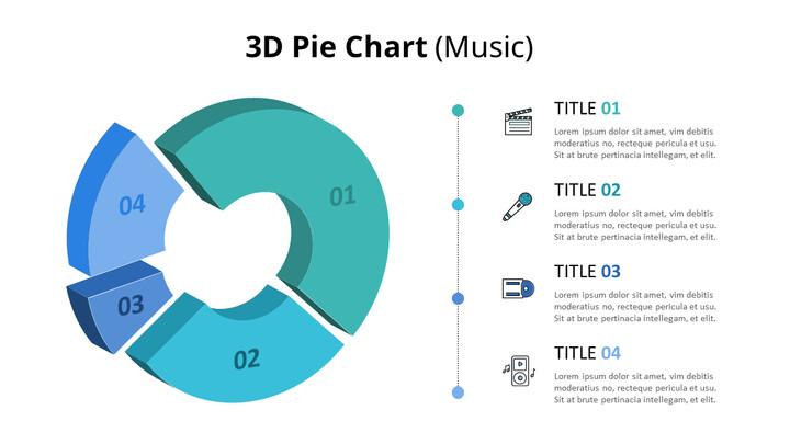 3D 원형 차트 다이어그램 (음악)_01