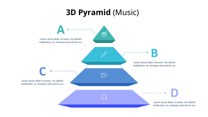 3D Pyramid Infographic Diagram (Music)_02
